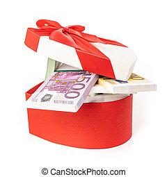 europe, gåvan boxas, lagförslaget, euro, pengar.