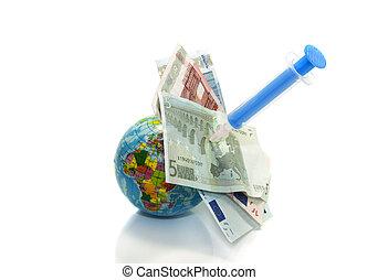 europe, injection, financier
