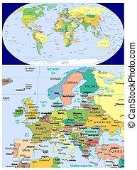 europe, mondiale