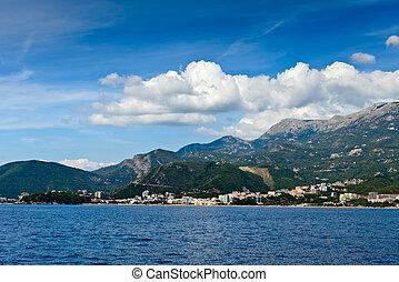 europe, montenegro, budva, riviera