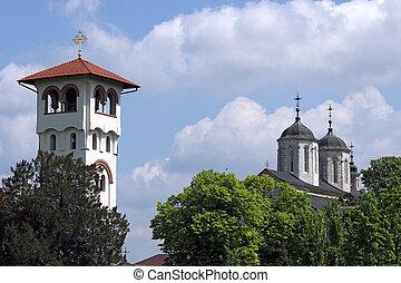 europe, orthodoxe, monastère, oriental, serbie, kovilj