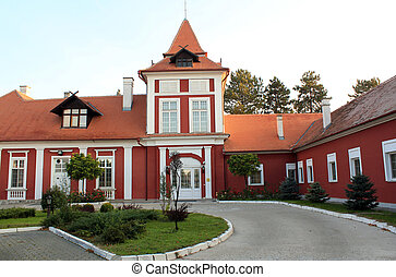 europe, serbie, château, vieux, oriental