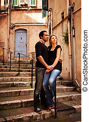 Europe Street Couple