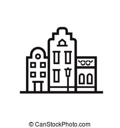 Europe Townt House Emblem