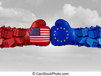 Europe USA Trade Fight
