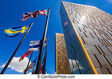 europeaan, gerechtshof, in, luxembourg