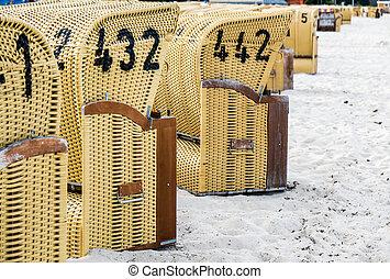 European Beach wicker chairs