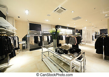 european brand new clothes shop