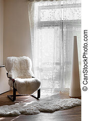 european bright and stylish interior