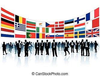 European businesspeople
