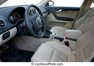 car interior - european car interior