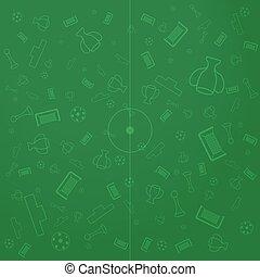 European Championship Illustration Background