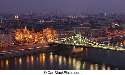 European City at Night Timelapse 38