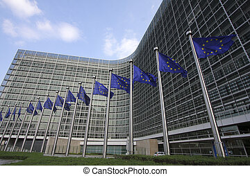 European Commission Berlaymont building in Brussels, Belgium