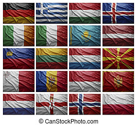 European countries from G to P