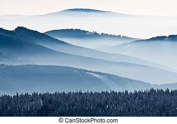 European Countryside - View of an European countryside...