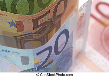 European Currency - European Bank notes, Euro currency from...