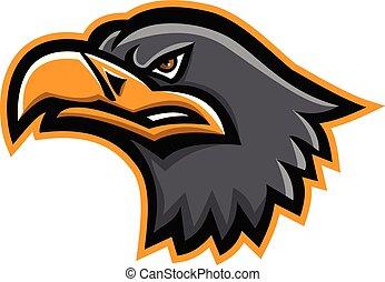 european-eagle-head-MASCOT