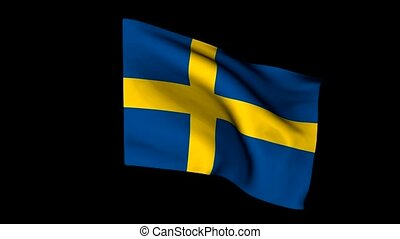 European flag sweden