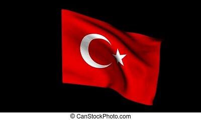 European flag Turki
