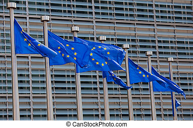 European flags