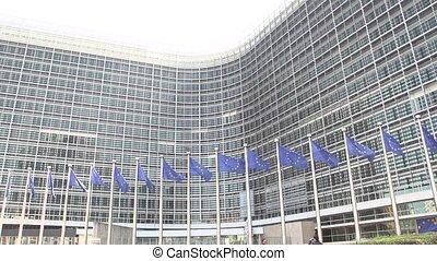 European Flags waving slow motion - European Flags waving...