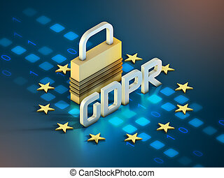 European GDPR and lock