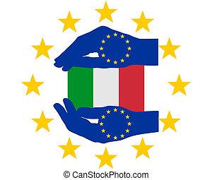 European Help for Italy