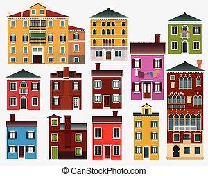 European houses (Italy)