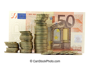 european money isolated