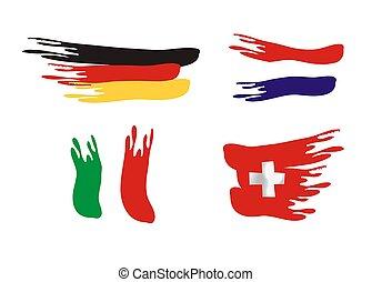 european nation flags