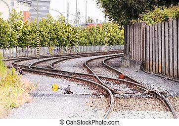 European Rail Road to Horizon in Germany