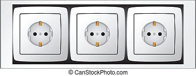 Set of sockets