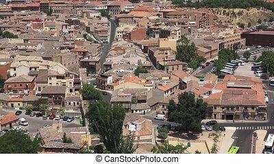 European Town Buildings Or Neighborhood Houses