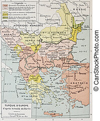 European Turkey bis - European Turkey after Treaty of Berlin...