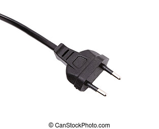 European two pin power plug