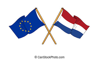 European Union and Netherlands alliance and friendship -...