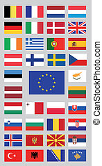 European union countries and candid