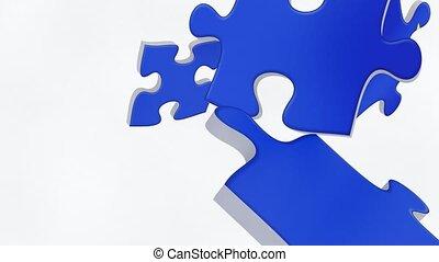 European Union flag puzzle - European union flag puzzle...
