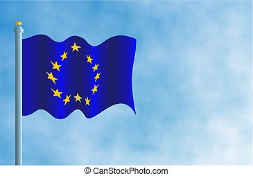 European Union Flag - Flag of the EU.