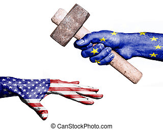 European Union hitting United States with a heavy hammer - ...