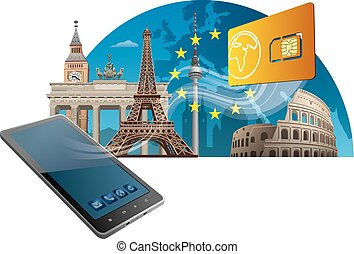 european union mobile service