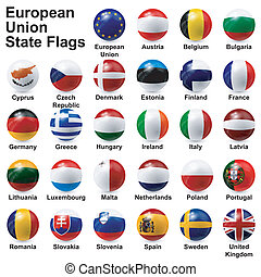 european union state flags