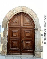 europeo, puerta