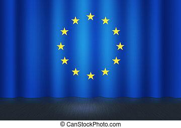europeu, fundo, fase