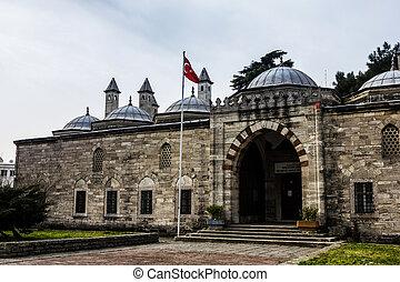 europeu, lado, de, istambul, turco, museu