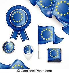europeu, símbolos nacionais