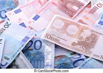euros, 背景