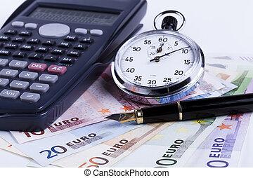 Euros and Pen