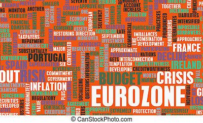 eurozone, 위기